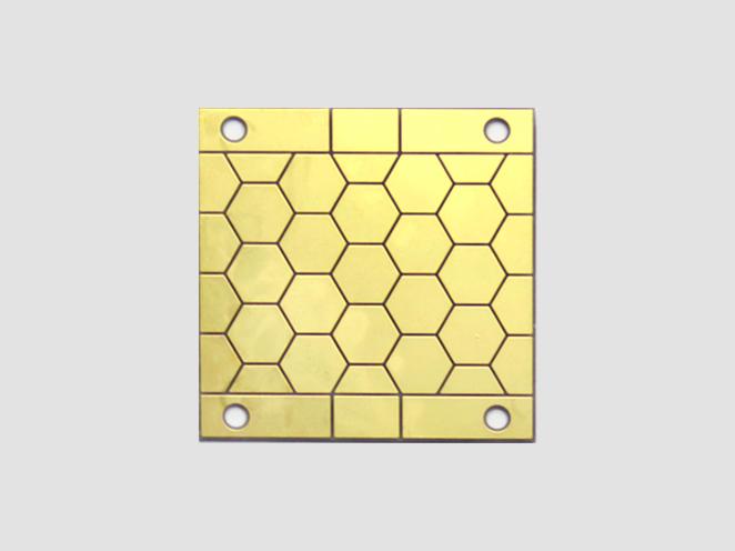 0.635mm氮化铝陶瓷电路板