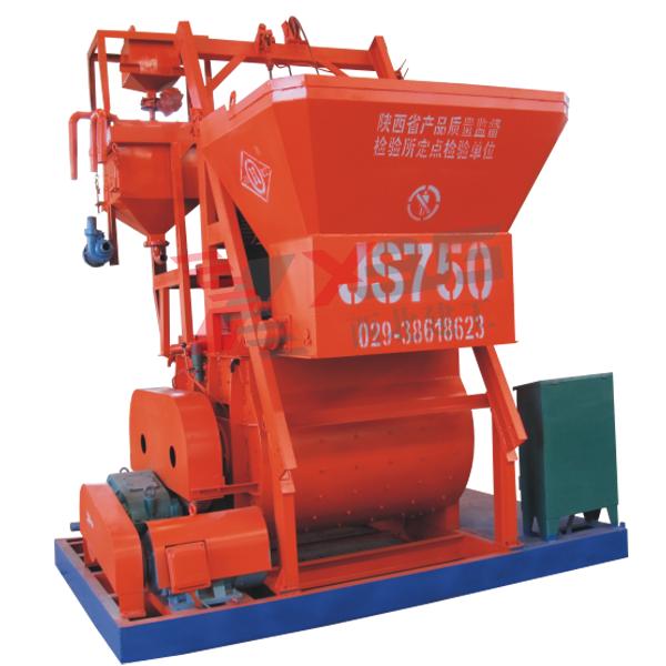 JS750型强制式混凝土亿博app下载安装机
