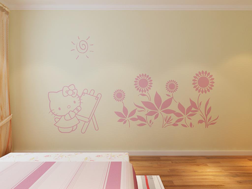 让无忧无虑的童话,营造一个充满温暖和爱意的空间。