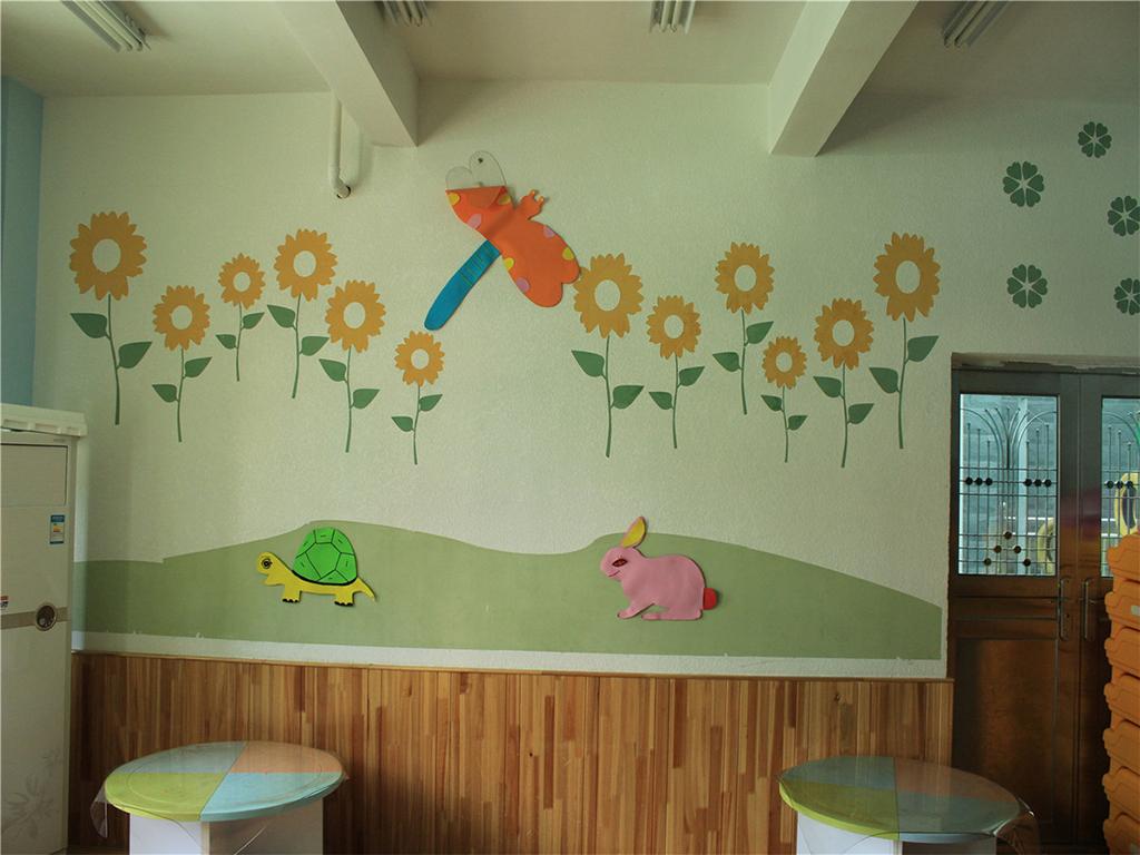 具有极佳的净化空气, 呼吸调湿,拒绝甲醛甲苯伤害的墙,是幼儿园的上上之选。