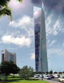 迪拜贸易中心一期SAMA-TOWER住宅大楼