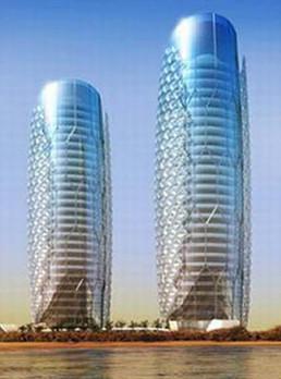 迪拜双子塔酒店〈阿拉伯联合酋长国)