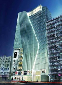 香港天文台路商业大厦
