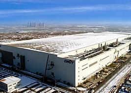咸阳G8.6代液晶基板玻璃生产线项目(陕西省重点项目,占地面积12.3万㎡,建筑面积47.95万㎡)