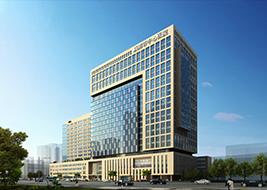 咸阳市中心医院医技综合楼(咸阳市重点项目,建筑面积8.28万㎡,造价4.5亿元)