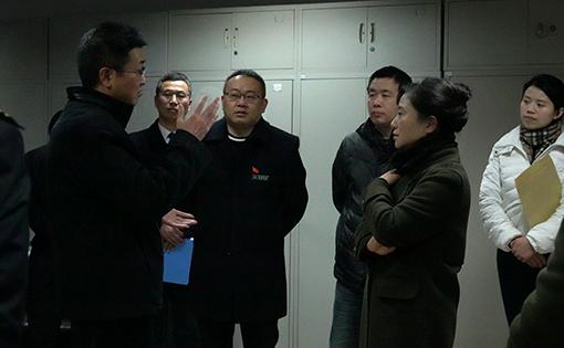 川高公司副总经理王健为一线员工送温暖2