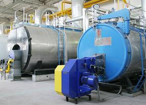 开拓热力中心8台40吨WNS燃气锅炉