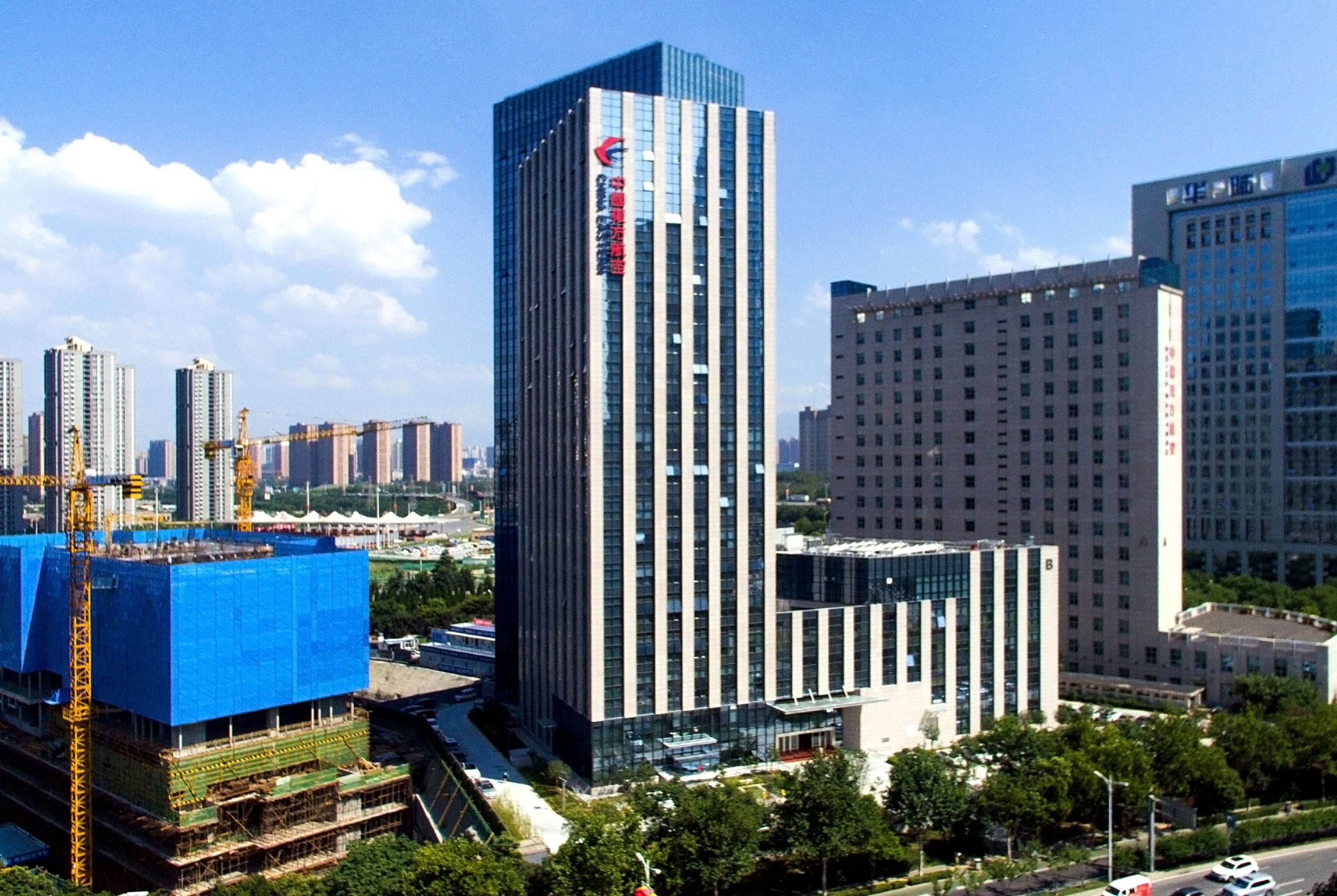 中国东方航空西北分公司东方航空城A区工程