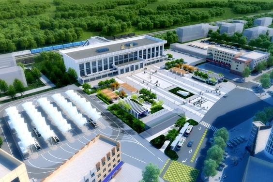 陕建咸阳市火车站站前广场改造项目开工